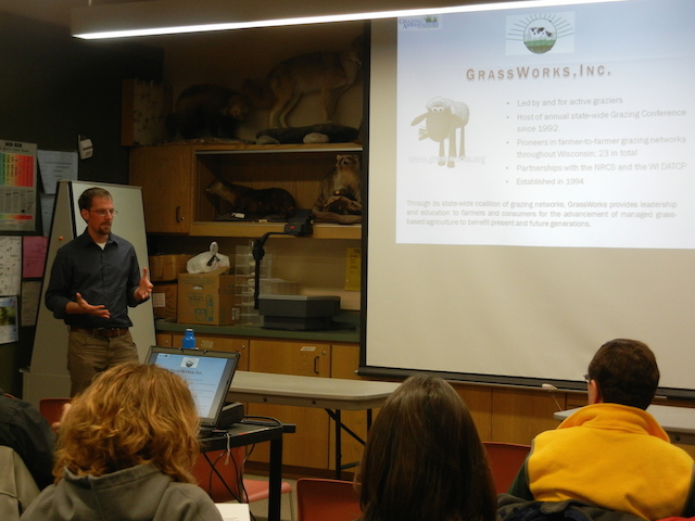Craig Meier at Riveredge Nature Center