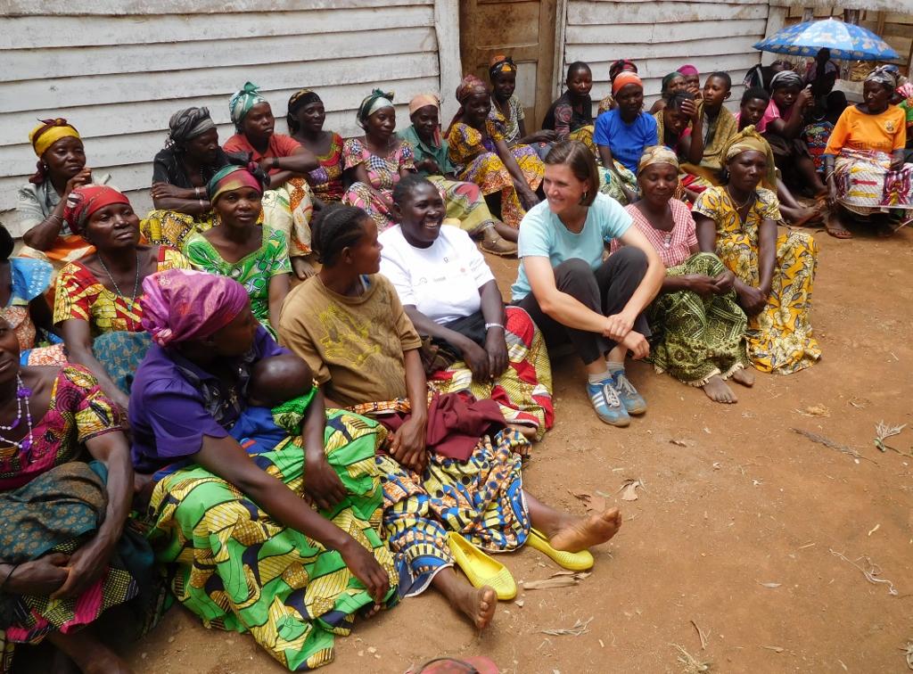 Julie Engel in the Democratic Republic of Congo